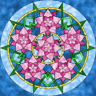 Mandala (léčivý obrázek)